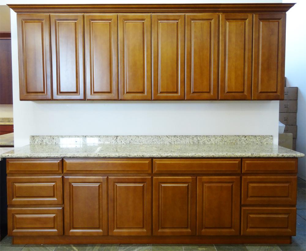 beech cabinets cabinet el shaker south espresso kitchen monte